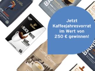 Tchibo Kaffeevorrat im Wert von 250 EUR zu gewinnen