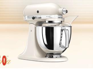 30 KitchenAid Küchenmaschinen zu gewinnen