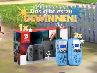 Nintendo Switch und 3x Walki Talkies zu gewinnen