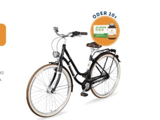 1 Triumph Citybike im Wert von 599 EUR zu gewinnen