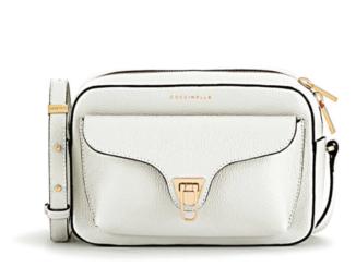 Coccinelle Handtasche Modell Beat in Weiß zu gewinnen