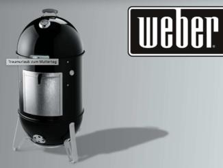 Gewinne 1 von 5 Smokey Mountain Cooker von Weber