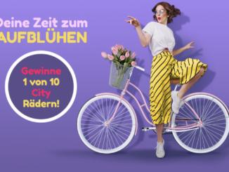 10x schicke City Fahrräder zu gewinnen