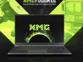 Gaming PC XMG Fusion 15 im Wert von 2.000 EUR zu gewinnen