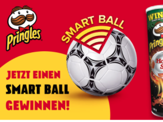 3x Smartbälle von und mit Pringles gewinnen
