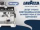 De Longhi Siebträgermaschine zu gewinnen mit Lavazza