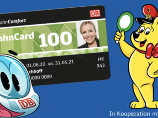 2x Bahncard 100 gewinnen und ein Jahr kostenlos Bahn fahren