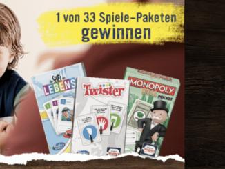 33 Spielepakete mit Wagner Pizza gewinnen
