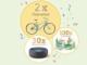 2 Rakete Fahrräder und 30 Amazon Echos zu gewinnen