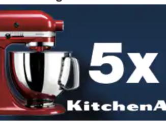 5x KitchenAid Küchenmaschine zu gewinnen