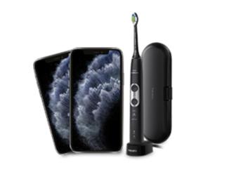 2x iPhone 11 und 6x Philips Sonicare Zahnbürsten zu gewinnen
