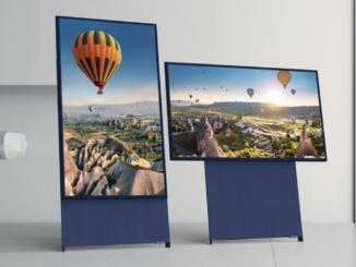 Samsung Fernseher The Sero im Wert von 1.400 EUR zu gewinnen