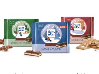 20 Schokoladenpakete von Rittersport zu gewinnen
