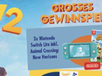3x Nintendo Switch zu gewinnen