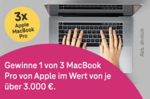 Macbook Gewinnen
