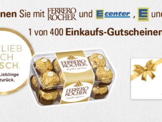 400 Edeka Einkaufsgutscheine zu gewinnen im Wert von je 25 EUR