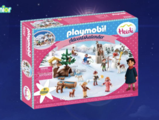 10 Playmobil Heidi Adventskalender zu gewinnen