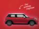 Mini Cooper in Rot zu gewinnen