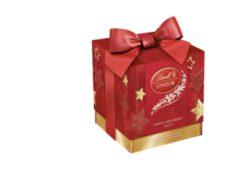 11 Lindor Weihnachtsgeschenke-Boxen zu gewinnen