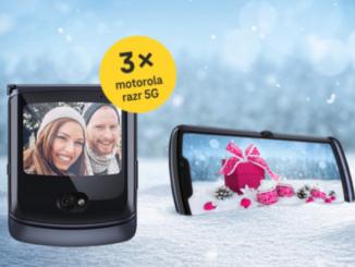 3x Motorola 5G Smartphones zu gewinnen