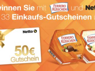 33x Netto-Einkaufsgutscheine im Wert von je 50 EUR zu gewinnen