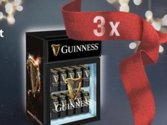 3 Mini Kühlschränke von Guinness zu gewinnen